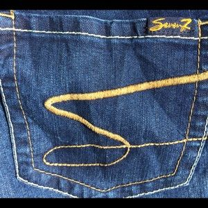 NWOT Seven7 Jeans size 14 bootcut
